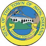 The seal of the town of Avon Indiana