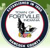 Welcome to Fortville Indiana, the sign says