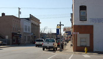 Downtown Martinsville IN Indiana